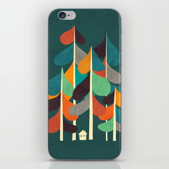 Cabin in the woods iPhone & iPod Skin