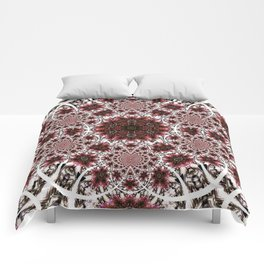 A Day For Wine And Roses Comforters