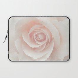 Blush Pink Rose Laptop Sleeve