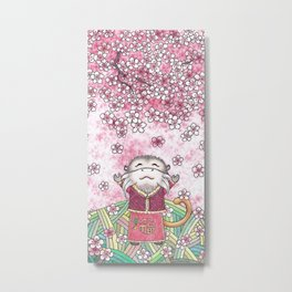 There is spring in my heart Metal Print