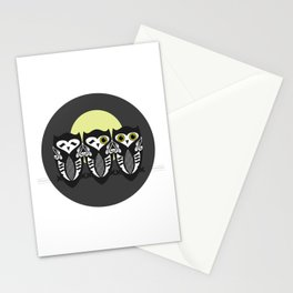 Three Little Owls Stationery Cards
