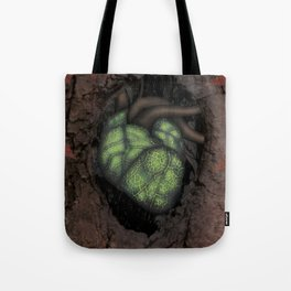Heart Of The Forest Tote Bag