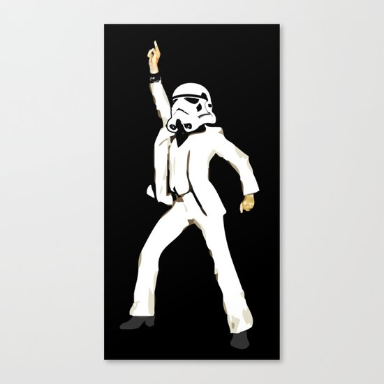 saturday night trooper _ star wars Canvas Print
