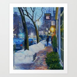 Charles Street Boston Art Print