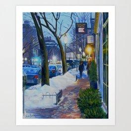 Charles Street Boston Art Print