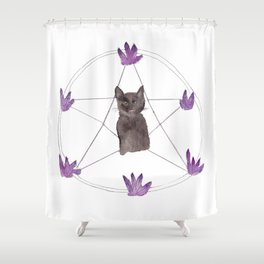 How May I Haunt You? Shower Curtain
