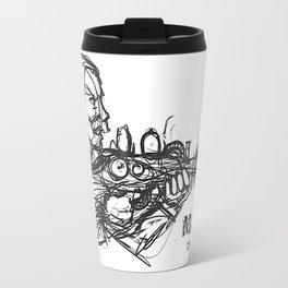 Rough Major Sketch Travel Mug