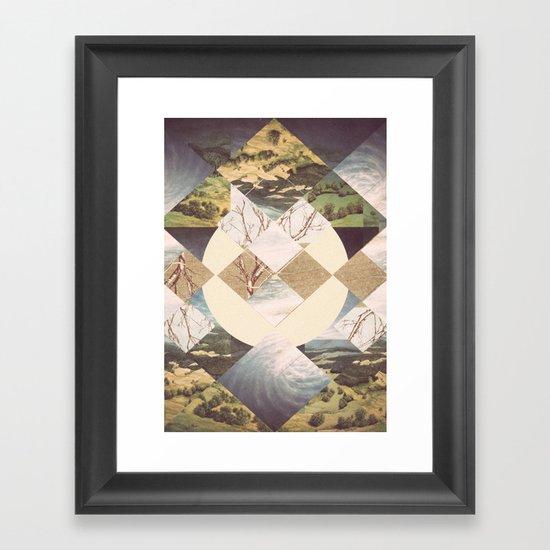 Geometric Abstraction Framed Art Print