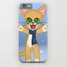 Happy Cat Winter style iPhone 6s Slim Case