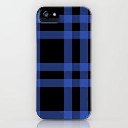 Blue Tartan iPhone Case