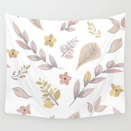 Flower Design Series 14 Wall Tapestry
