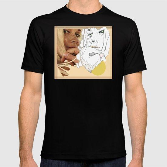 vintage peach T-shirt