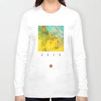 pixel Long Sleeve T-shirts featuring pixel pixel by David Mark Lane