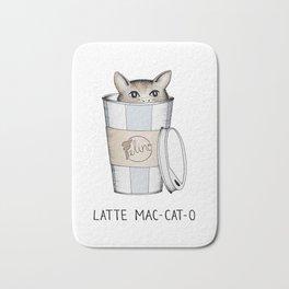 Latte Mac-cat-o Bath Mat