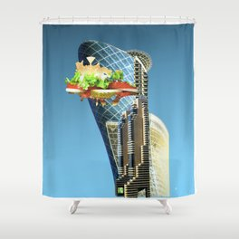 EXP 7 Shower Curtain