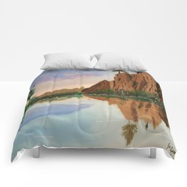 Cliffside Reflections Comforters