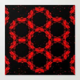 Mother Loved The Color Red Canvas Print