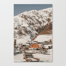 Simple Village Canvas Print