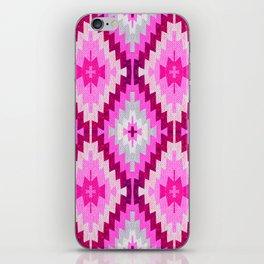 Kilim pink Moroccan print //Moroccan rug iPhone Skin