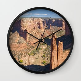 Spider Rock Wall Clock