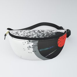 LP music notes Fanny Pack