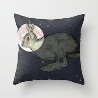 interstellar Throw Pillows featuring Interstellar by Shany Atzmon