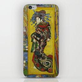 Van Gogh - Courtesan (after Eisen) iPhone Skin
