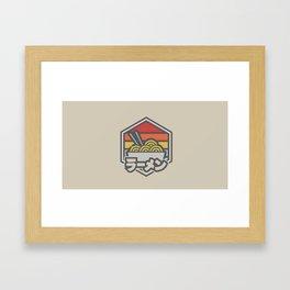 Ramen v.3 Framed Art Print