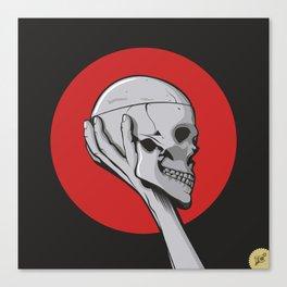 Skull Hamblet  Canvas Print