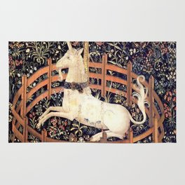 The Unicorn in Captivity Rug