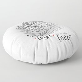 Love Floor Pillow