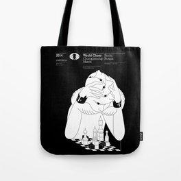 Sochi 2014 World Chess Championship Match Tote Bag