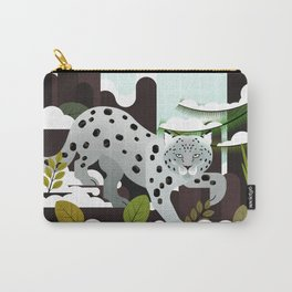 Snow Leopard - Made for the Mountains Carry-All Pouch