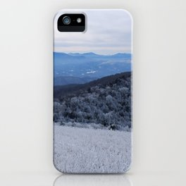Winter at Roan Mountain iPhone Case