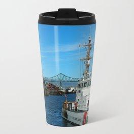 US Coast Guard On Columbia River Travel Mug