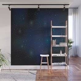 Galaxy on your fingertips Wall Mural