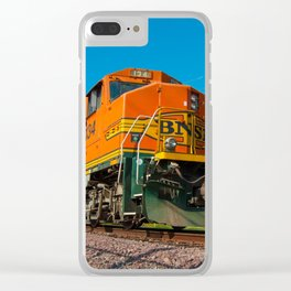 Morning Train Clear iPhone Case