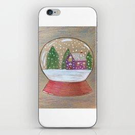 Snow Globe iPhone Skin