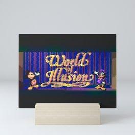World Of Illusion Mini Art Print