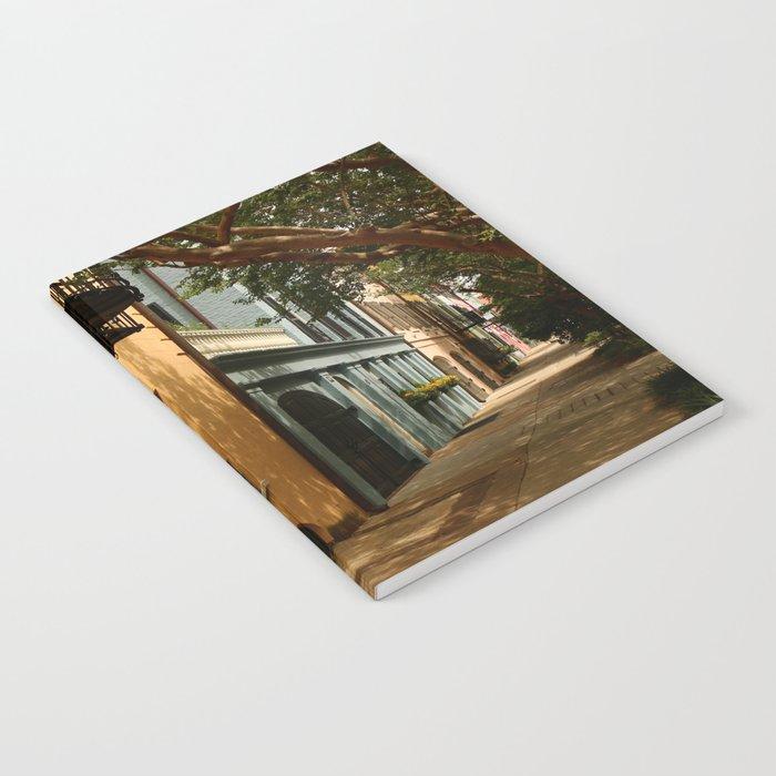 Charming Charleston Street Notebook