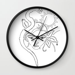 nodapl Wall Clock