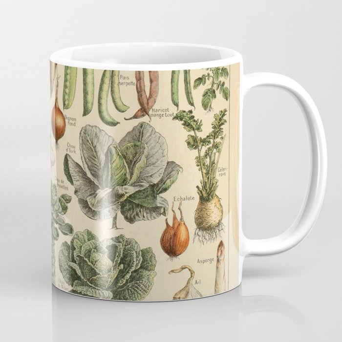 legume et plante potageres Coffee Mug