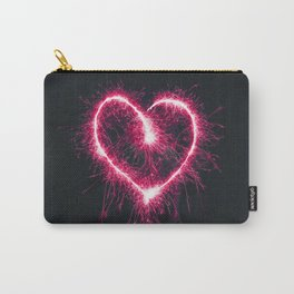 Firework Heart (Color) Carry-All Pouch