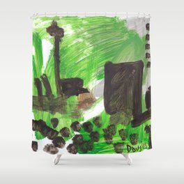 Big City Shower Curtain