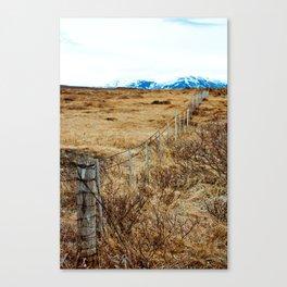 Icelandic View Canvas Print