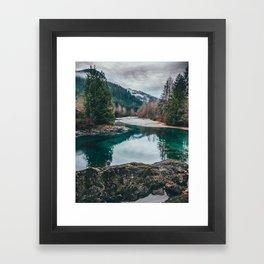 The Pacific NorthWest Framed Art Print