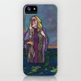 The Loneliness of Echo iPhone Case