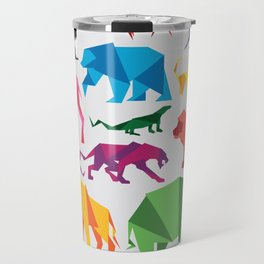 Paper Animals Travel Mug
