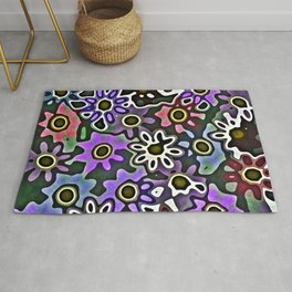 Floral Decay Rug