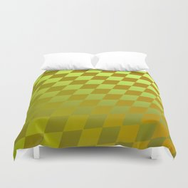 Pattern by squares 4 Duvet Cover